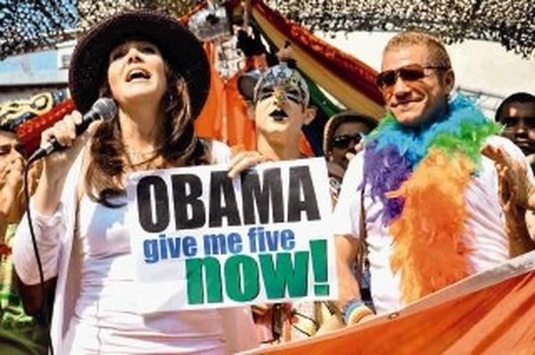 Castro marchó en mayo en La Habana contra la homofobia. | AFP.