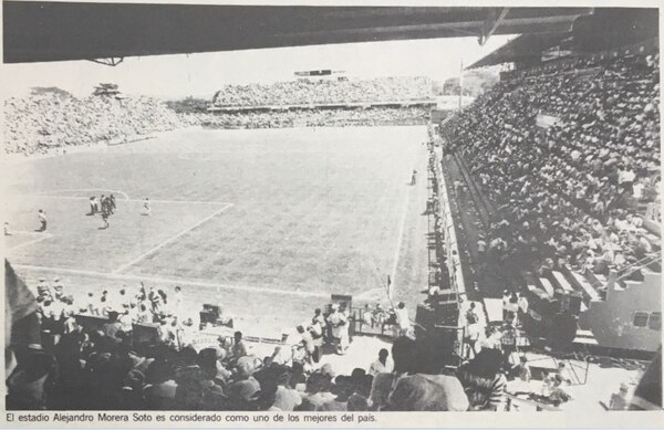 El Morera Soto siempre ha sido un estadio familiar y acogedor.
