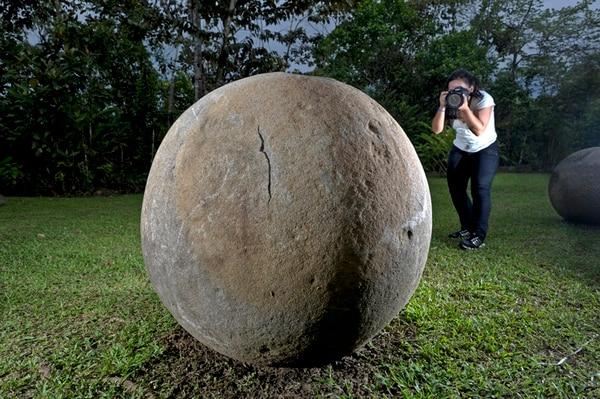Las esferas precolombinas son un símbolo de la identidad costarricense y están en proceso de ser declaradas Patrimonio de la Humanidad por la UNESCO.