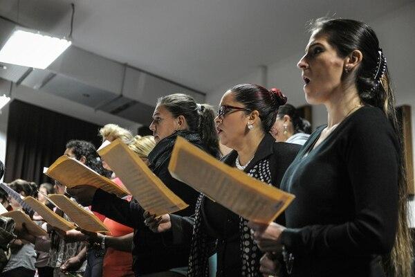 El Coro Sinfónico Nacional participará en la presentación de la Orquesta Sinfónica Nacional. Gabriela Téllez.
