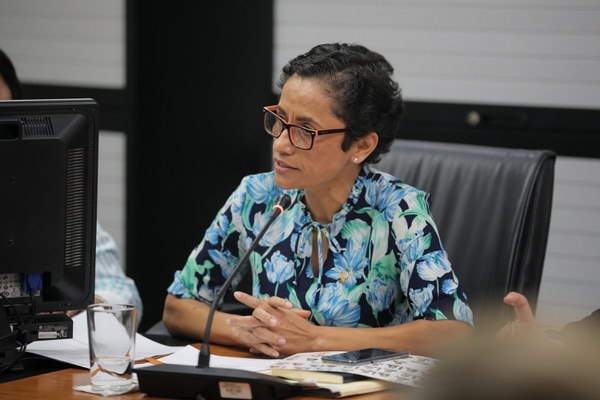 La diputada Yorleni León lidera el proyecto de ley expediente 21.079. Foto: La Nación / Jeffrey Zamora