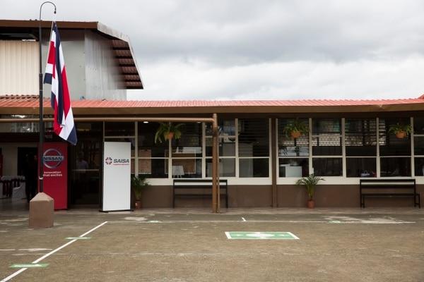 Así luce la Escuela San Rafael tras las mejoras realizadas. Foto cortesía: Grupo Danissa.