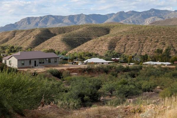 Esta es la finca La Mora, en el estado de Sonora, propiedad de la familia LaBarón.