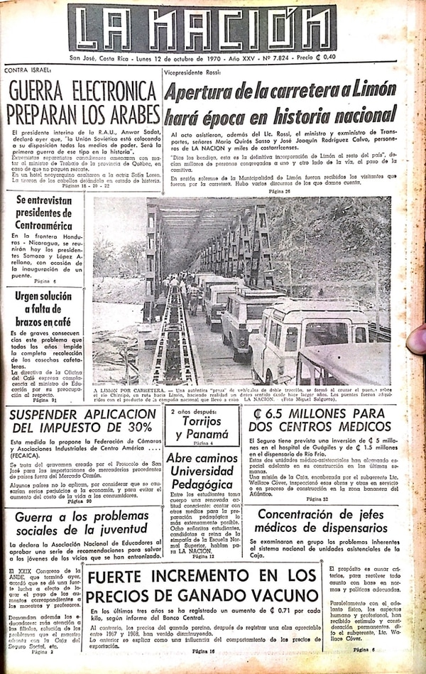 12 de octubre de 1970: