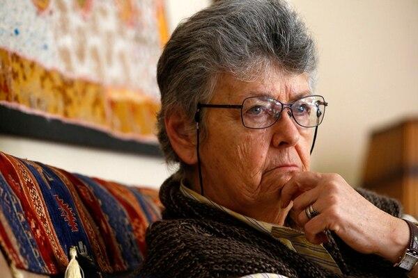 Elizabeth Odio Benito, jueza de la Corte Interamericana de Derechos Humanos (Corte IDH) y ex vicepresidenta de la República. Foto: Mayela López