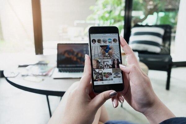 La pestaña 'Siguiendo', que mostraba la actividad de los contactos dentro de la aplicación de fotografía y video digital de Facebook.