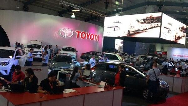 Toyota en Expomóvil.