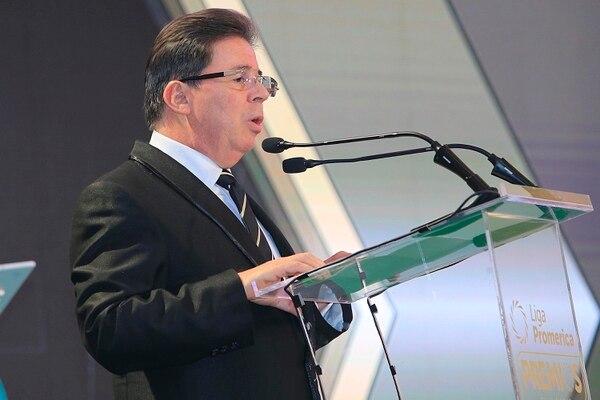 Julián Solano, presidente de la Unafut. Foto: Rafael Pacheco