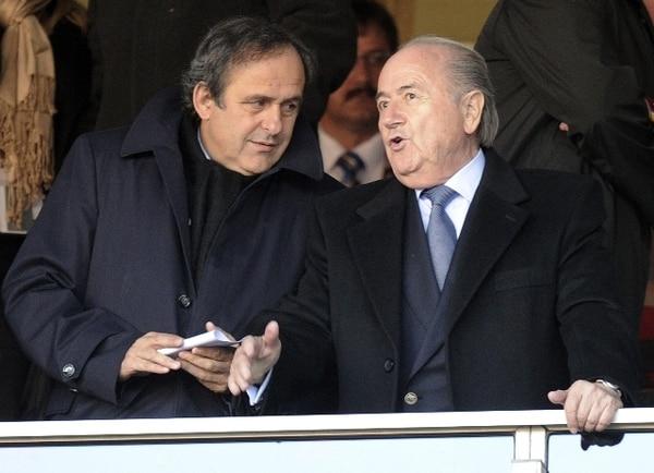 Michel Platini es uno de los jugadores históricos de mundiales. AFP