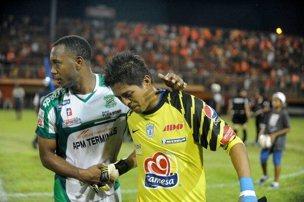 Víctor Bolívar no pudo ocultar su tristeza al perder la categoría. | LUIS NAVARRO