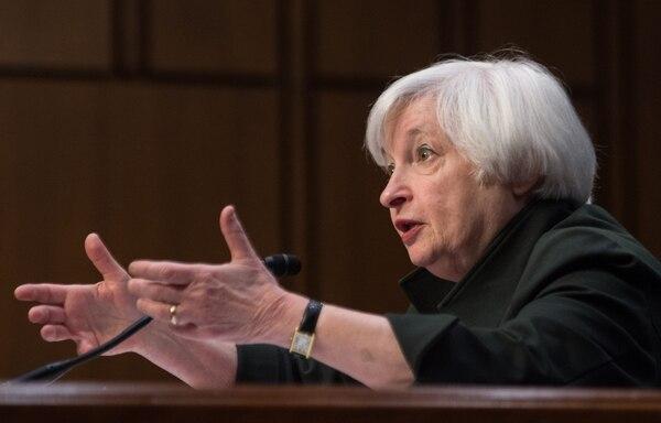 Janet Yellen, presidenta de la Reserva Federal, en su comparecencia hace unos días ante un comité del Congreso de EE. UU.