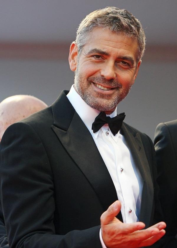 Desconocido. El representante de George Clooney aseguró que no tienen ni idea de lo que pasó con el anillo. Archivo.