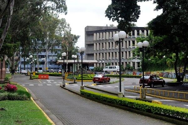 La Universidad de Costa Rica, cuya sede central está en San Pedro de Montes de Oca, tiene 9.300 funcionarios, cuyas anualidades le cuestan al año ¢45.000 millones. | ALONSO TENORIO