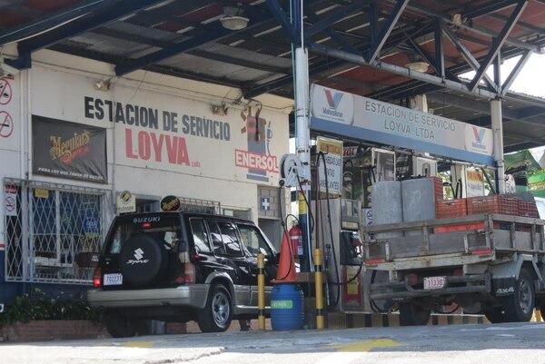 Las gasolineros son uno de los blancos preferidos de los ladrones en San Carlos. Esta fue visitada por el hampa este fin de semana.