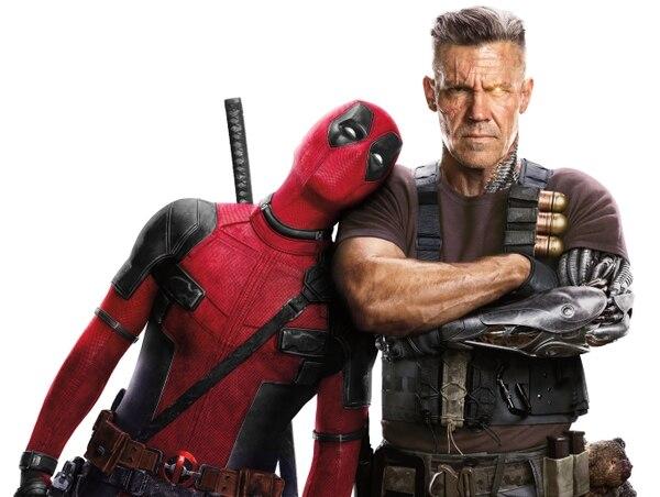 La inclusión de Cable (derecha) en el mundo de Deadpool abre la puerta a conexiones con otras series y épocas de Marvel. Fotos: 20th Century Fox/Cortesía de Discine