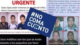#NoComaCuento: Imágenes falsas de supuestos secuestradores de niños se difunden en Costa Rica y Latinoamérica