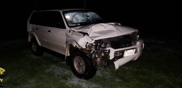 En San Carlos, otro motociclista falleció tras chocar con un carro. Foto: Édgar Chinchilla.