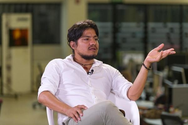 Leynar Gómez es otro de los protagonistas de 'El despertar de las hormigas'.
