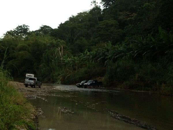El cuerpo apareció cerca de un río en una zona montañosa de Limón.