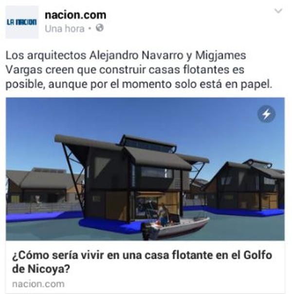 Noticia de 'La Nación' al instante en Facebook