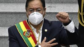 Presidente Luis Arce intenta mantener distancia con Evo Morales, su mentor político
