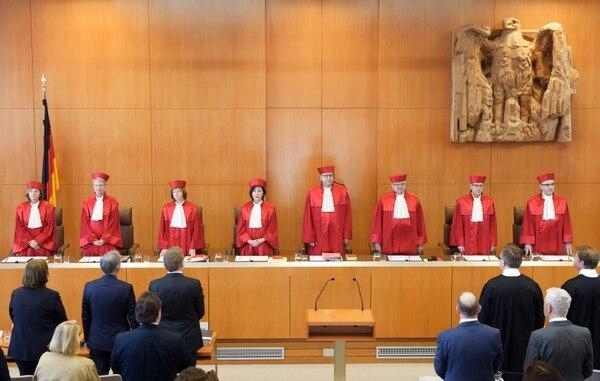 La Corte Constitucional de Alemania abrió la audiencia sobre la prohibición de la eutanasia en Karlsruhe, este martes 16 de abril del 2019 Foto: AFP