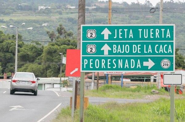 Jeta Tuerta se encuentra en Cartago; El Guapote está en Guanacaste y Peoresnada en Río Cuarto. Fotomontaje: Dominick Proestakis.