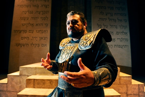Experto. El mexicano Carlos Almaguer como Nabucco. John Durán.