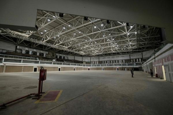 Un vistazo a la Arena Carioca que albergó los enfrentamientos de lucha judo, karate entre otras disciplinas de combate.