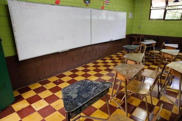 Las clases presenciales se suspendieron en el país el 16 de marzo por la pandemia de covid-19. Foto: Albert Marín