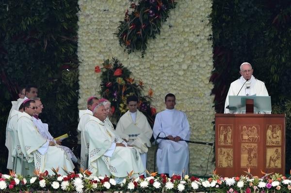 Homilía del Papa Francisco en Medellín, Colombia.