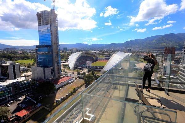 Leumi Business Center, proyecto de Grupo Leumi, se convertirá en el rascacielos más alto de Costa Rica. Foto: Rafael Pacheco