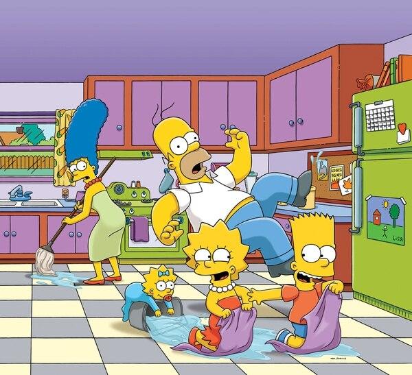 Llegó el mes de Los Simpson a canal Fox