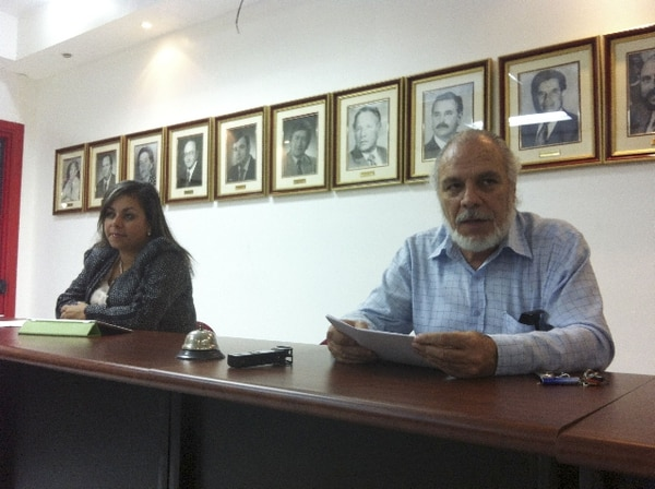 Dennis Cabezas, negociador del sector sindical. | ARCHIVO