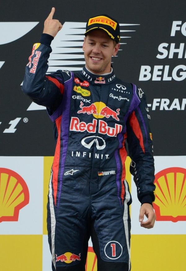 El piloto alemán aseguró el liderato en el Gran Premio de Bélgica desde las primeras curvas. | AFP