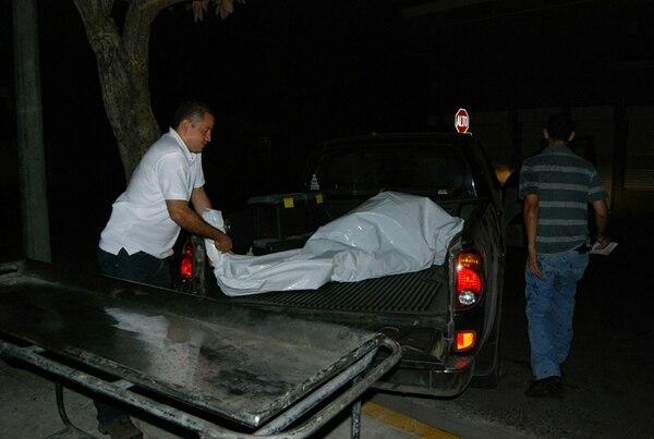 La víctima murió en el 2010, camino al hospital.   RONNY SOTO / ARCHIVO