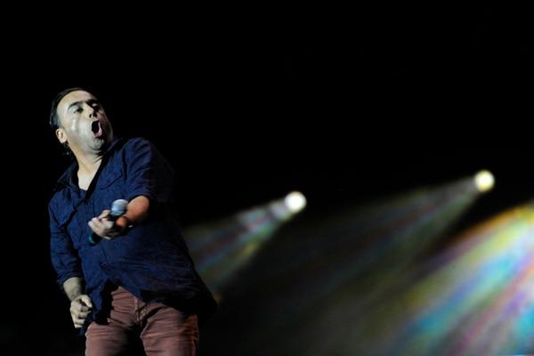 Extenso show . Esta vez, Ramones estuvo en el escenario por más de dos horas y media, poco menos que en el 2011, cuando regaló tres horas de risas. E. Vargas