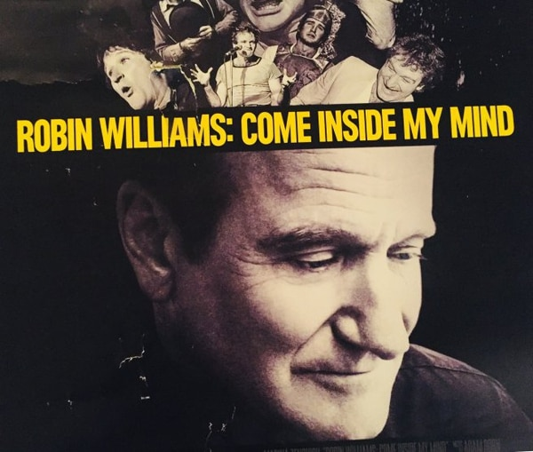 El documental de Robin Williams se estrena este lunes 6 de agosto. Fotografía: Cortesía HBO.