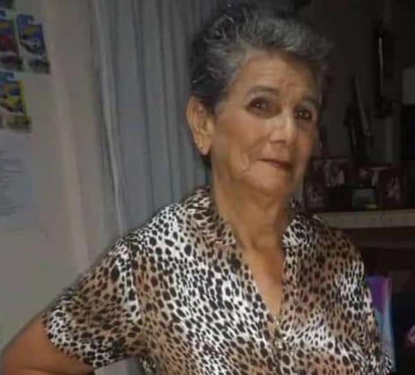 Mireya Rojas Vargas, de 76 años, murió atropellada en Juntas de Pacuar de Daniel Flores, en Pérez Zeledón. Foto: Suministrada por Mario Cordero, corresponsal GN