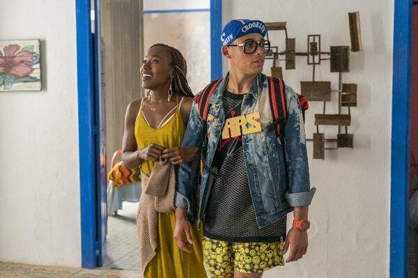 Mars Blackmon (Anthony Ramos), pareja de Nola, seguirá buscando su espacio dentro de la industria de la música. Fotografía: Netflix para La Nación