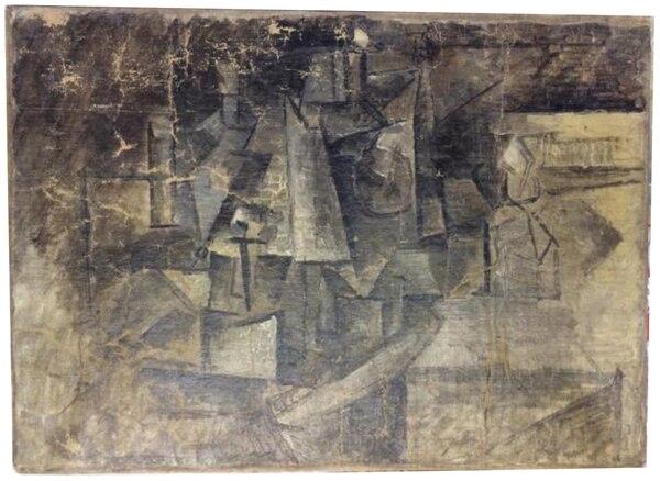 Este es el cuadro de Picasso que se perdió en París desde el 2001 y que apareció en Estados Unidos.