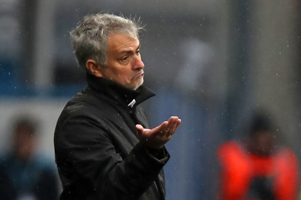 Jose Mourinho, técnico de Manchester United.