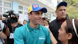 Líder opositor Henrique Capriles llama a participar en las elecciones legislativas de Venezuela