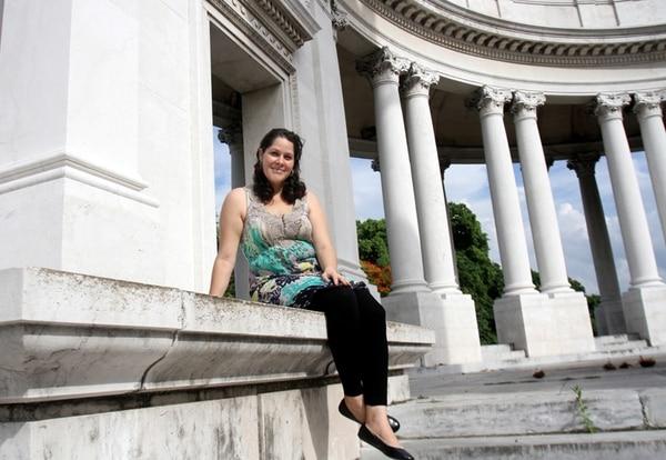 Paola Ruiz trabajó durante un año como médica general en Cariari de Pococí, pues consiguió equiparar su título en Costa Rica. En el 2010 volvió a Cuba para formarse como anestesióloga. | FOTO: MEYLIN AGUILERA