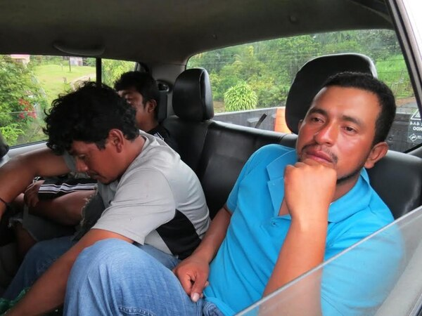 Los tres sujetos fueron auxiliados en Drake y luego quedaron a la orden de las autoridades de Seguridad Pública.