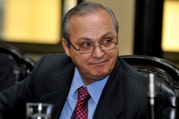 Wálter Céspedes declaró esta mañana que no había recibido la notificación de la Contraloría.