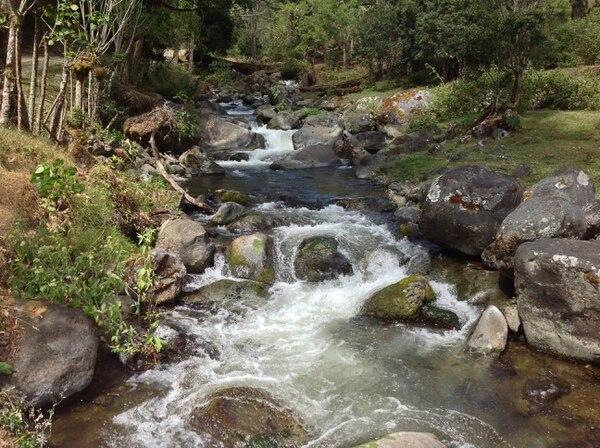 El río Savegre es una de las cuencias más limpias de Centroamérica.
