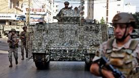Seis muertos y escenas de guerra en una manifestación en Beirut