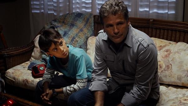 Víctor Pintor (Sebas) y Héctor Soberón (papá). Mario Araya