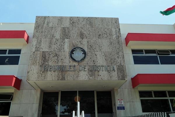 La sentencia se dictó en los Tribunales de Justicia de Nicoya, Guanacaste. Foto Alonso Tenorio